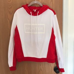 Hunter for Target Red and White Hoodie